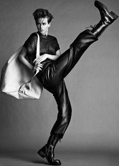 ✰Ellinore Erichsen ✰Photographer: Jimmy Backius ✰Styling:Delphine Perroy ✰Madame Figaro Magazine (France) 2013