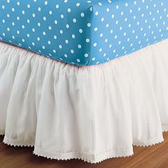 I love the Bohemian Bed Skirt on pbteen.com