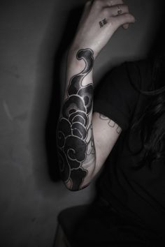 Korean Traditional Pattern work done at Black Mark It in Seoul, 2015.