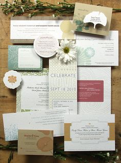 Bloomin Invites's wedding invitation