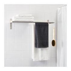 GRUNDTAL Towel hanger/shelf - IKEA