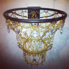 Decio Chandelier Basketball hoop