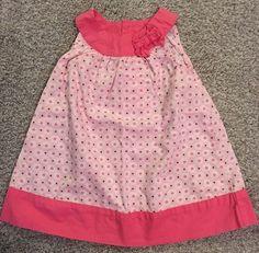 Carters Girls Size 12 MO Dress | eBay