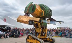 EEUU desafía a Japón a una pelea de robots