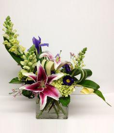 different flowers arrangement styles - Google Search