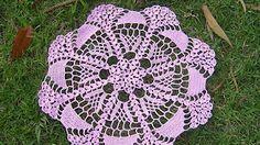 Como tejer centro de mesa a crochet paso a paso 3/4 - YouTube