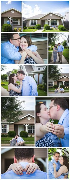 Fayetteville Arkansas Engagement Photography - New Home Photography Session - Northwest Arkansas Photographer - Leah Marie Landers Photography