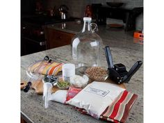 1 gallon small batch starter kit - for homebrewing to future brewery Make Beer At Home, How To Make Beer, Beer Brewing Kits, Home Brewing, Brewing Company, All Grain Brewing, Brew Your Own Beer, Homemade Beer, Thing 1
