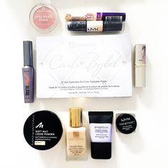 Hier sind die Produkte meiner momentanen Make-up Routine, es sind verschiedene Produkte aus dem Drogerie- und Highendbereich. Es sind momentan meine Lieblingsprodukte von den Marken Nyx, Loreal, BH-Cosmetics, Benefit, Estee Lauda, Astor, Essence & Manhattan.