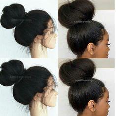 off 【coupon: . SKU: Italian yaki full lace wig www. Black Girls Hairstyles, Wig Hairstyles, Wedding Hairstyles, Black Hair Curls, Curly Hair Styles, Natural Hair Styles, Natural Wigs, Best Wigs, Half Wigs
