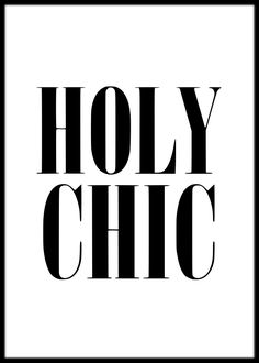 size: Stretched Canvas Print: Holy Chic White by Brett Wilson : Using advanced technology, we print the image directly onto canvas, stretch it onto support bars, and finish it with hand-painted edges and a protective coating.