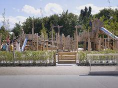 Gleisdreieck Park,Courtesy of Atelier LOIDL