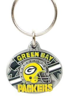 "NFL Team Design Key Ring - Green Bay Packers by Siskiyou. $8.95. Officially licensed by the NFL. Green Bay Packers team design pewter NFL key chain. Approx. 1 1/4"" Fob.. Save 55% Off!"