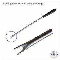 HELPHOME EZ Planting tools sweet potato seedlings cutting stem HOE using Movie