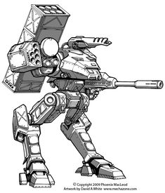 Freelance Mecha Design 06 by Mecha-Zone on DeviantArt