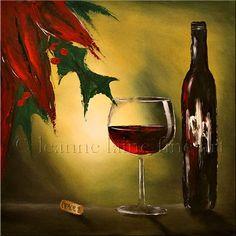 Christmas wine...