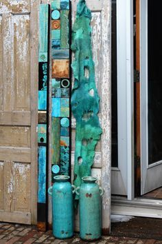 Arizona Highways Turquoise Trails Totem 6-60 ins by TinExpressions