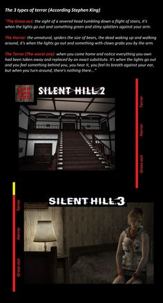 Silent Hill 2 and Silent Hill 3