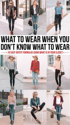 what to wear when you don& know what to wear - 10 easy outfit formulas usin. - what to wear when you don& know what to wear - 10 easy outfit formulas usin. what to wear when you don& know what to wear - 10 easy outfit. Simple Outfits, Casual Outfits, Cute Outfits, Fashion Outfits, Fashion Trends, Stylish Mom Outfits, Mom Fashion, Winter Outfits, Fashion Style Tips