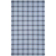 Couristan Bar Harbor Cape Plaid Hand-Woven Blue Jay/Black Area Rug Rug Size: x Green Theme, Rustic French, Cottage Interiors, Carpet Stains, Dream Decor, Online Home Decor Stores, Blue Area Rugs, Colorful Rugs, Rug Size