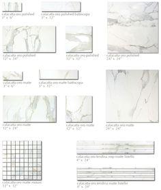 White Marble Calacatta On Pinterest Carrara Marble