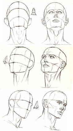 Face Angles Drawing Projects Pinterest Drawings Drawing Heads