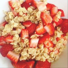 Strawberry Oatmeal - 21 Day Fix Approved