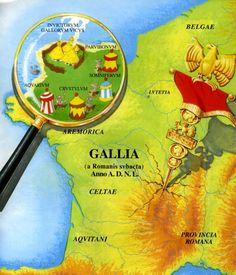 Asterix & Obelix, Gallia