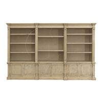 Large Three Section Bookcase-Click for Larger Picture