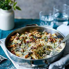 Easy Healthy Recipes, Raw Food Recipes, Veggie Recipes, New Recipes, Vegetarian Recipes, Cooking Recipes, Veg Lasagne, Good Food, Yummy Food