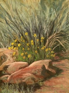 Unexpected by Tammy Cox Pastel ~ 12 x 9