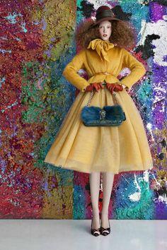 Paint-Splattered Editorials - The Mujer Hoy Moda 'Ginger' Issue Stars Sonia Lukrecja Trzewikowska (GALLERY)