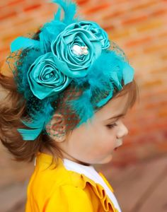 MANDY boutique head band for girls and women for by missrubysue, $55.00