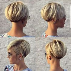 Short Hair Pixie Cut
