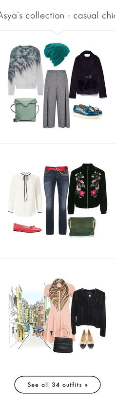 """""""Asya's collection - casual chic"""" by zhge on Polyvore featuring mode, Karen Millen, Raquel Allegra, Grenson, MANU Atelier, Coal, Topshop, Silver Jeans Co., MICHAEL Michael Kors et River Island"""