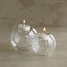 Hand-Blown Glass Votives | The Company Store