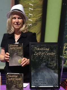 At Loganberry Books' Author Alley event on 7.11.15