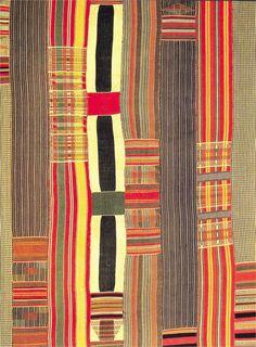 fabric weaved in Ghana - 1930's