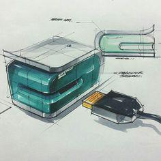 Industrial sketch usb