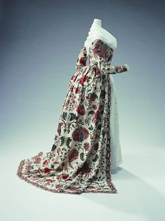 Robe à l'Anglaise 1780s The Kyoto Costume Institute - OMG that dress!