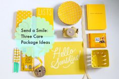 How to Send a Smile in the Mail: 3 Ideas for Care Packages