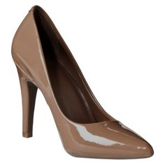Women's Mossimo® Palma Pumps - Beach Patent Great for women with darker skin for interview!