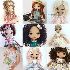 Home of the new generation of luxurious and heartfelt sentimental keepsake dolls. Fabric Doll Pattern, Doll Sewing Patterns, Sewing Toys, Fabric Dolls, Raggy Dolls, Funky Gifts, Sock Toys, Waldorf Dolls, Soft Dolls