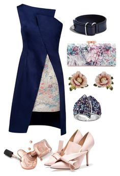 """Asymmetrical Allure"" by pandamestas on Polyvore featuring Lemiché, Les Néréides, Ted Baker and Shinola"