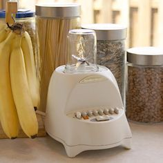 Easily attach you regular mouth canning jar to your blender and you have a free magic bullet.