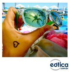 Óculos de sol Ray-Ban para o verão #summer #verao #oculosdesol #sunglass #rayban #wayfarer