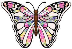 ArtbyJean - Butterflies: Butterfly with purple crackle ...