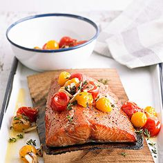 A tablespoon of brown sugar is all you need to help an entire salmon fillet score a beautifully crunchy and caramelized exterior.