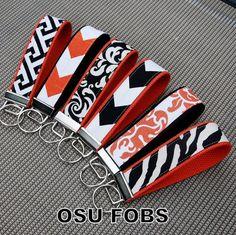 Collegiate Key Fob-Oklahoma State University-OSU on Etsy, $7.25