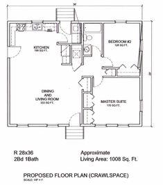 Floor plan for a 28 x 36 cape cod house house plans for 28x32 floor plan